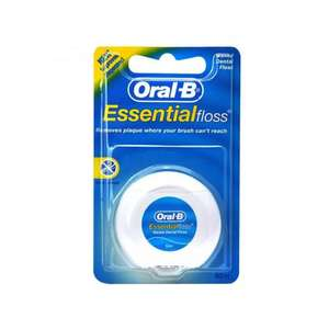 ORAL-B ESSENTIAL FLOSS 50M ONLY £1.00 @ Poundstretcher