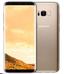 Samsung Galaxy S8 G950FD 4G 64GB Dual Sim SIM FREE/ UNLOCKED - Maple Gold CODE TDGP7 £444.99 @ Toby deals