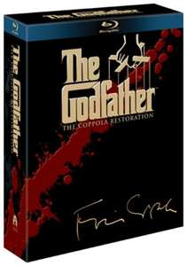 [Blu Ray]  The Godfather Complete (The Coppola Restoration) [4 Disc] - £9 - Zoom
