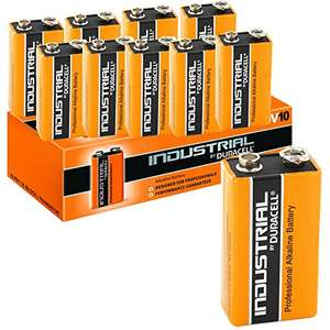 10 PP3 Batteries inc P&P  (See other buying choices) £10.35 @ battery Warehouse on Amazon