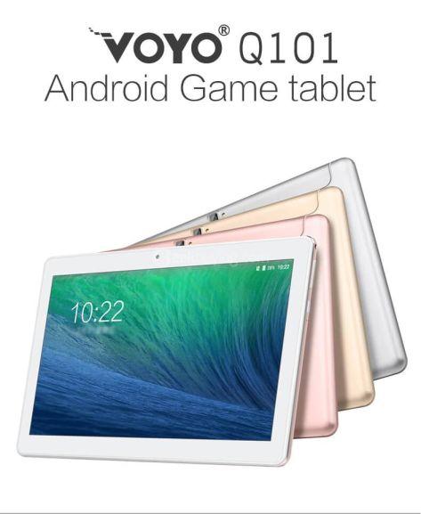 Voyo Q101 4G Phablet 10.1 Inch Octa Core MTK6753 1.5GHz 2GB RAM 32GB ROM 74.64 @ Geekbuying