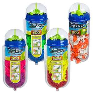 X-Shot – Cube with 500 Balloons and Tap Adapter, Bunch O Balloons £9.95 (Prime) @ Amazon