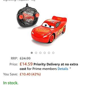 "Disney Cars 203084003S02 ""Cars 3 Turbo RC Racer Lightning Mcqueen"" Toy £14.59 Prime Exclusive @ Amazon"