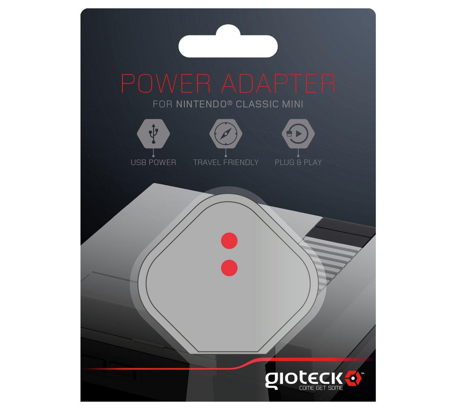 Nintendo Classic Mini: Power Adapter UK £4.99 @ Smyths