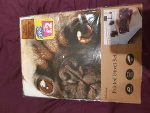 Double duvet covers  in poundland £2 each