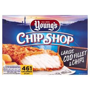 Young's Chip Shop Cod Fillet And Chips (300g) For £1 @ Tesco