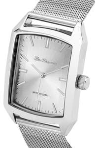 Ben Sherman Men's Quartz Watch with Silver Dial Analogue Display and Stainless Steel Bracelet £8.59 (Prime) @ Amazon