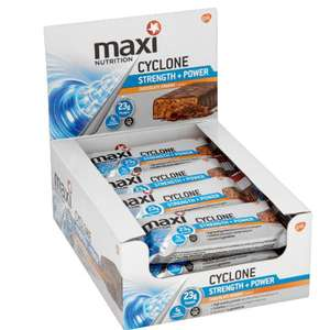 Maximuscle Chocolate Orange  cyclone bars in pound world express Wakefield 50p each