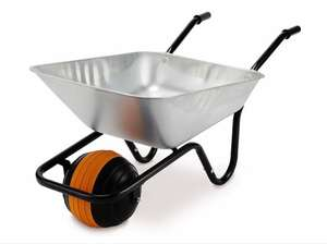 Aldi Gardenline Wheelbarrow reduced from £39.99 to £29.99 NOW £14.99