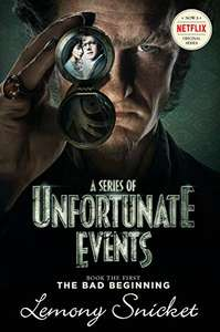 A Series of Unfortunate Events #1: The Bad Beginning by Lemony Snicket Kindle Edition 99p @ Amazon