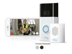 Ring Doorbell 2 with Chime - Reduced by £20 @ Argos now £169