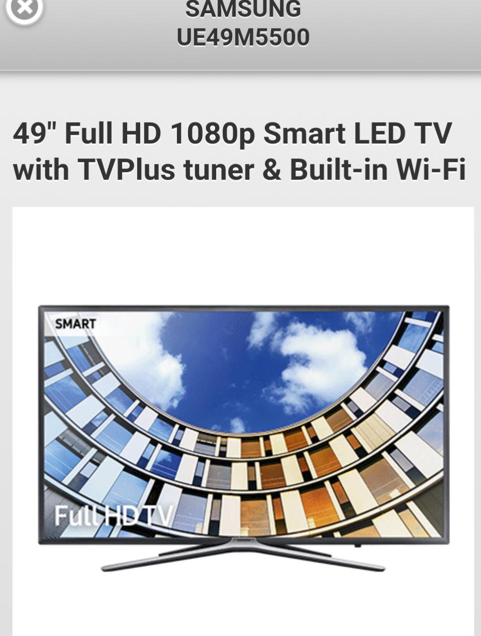 SAMSUNG UE49M5500 £399 @ RGB direct