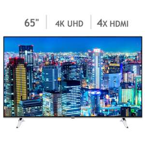 Toshiba 65U6663DB 65 Inch 4K Ultra HD Smart TV £749.89 @ Costco online