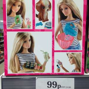 Barbie Accessory Packs 99p in store in Home Bargains