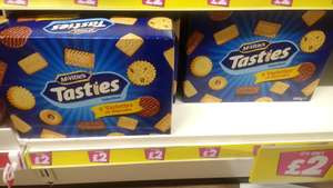 Mcvities Tasties 800g Box of Biscuits at £2 Poundland Edmonton