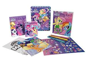 My Little Pony The Movie Happy Tin £6 (Prime) £8.99 (Non Prime) @ Amazon