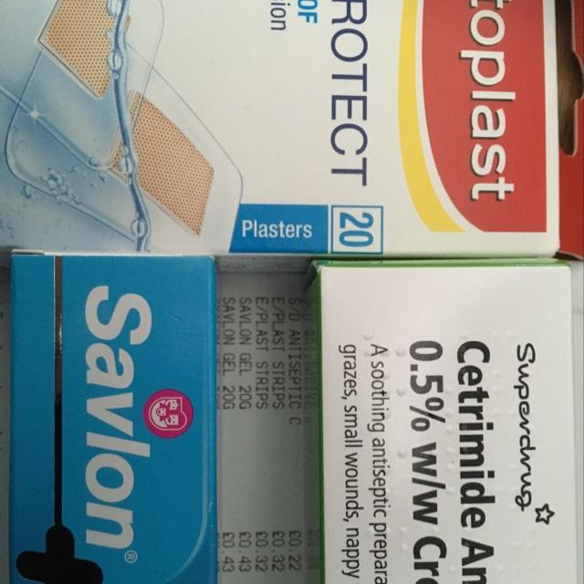 Superdrug 60g Antiseptic Cream 22p - instore Flemingate