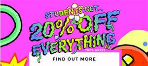Schuh 20% student discount in store and online