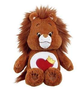Care Bears Brave Heart Lion - Medium + DVD £9.89 @ Tesco Direct (Free C&C)