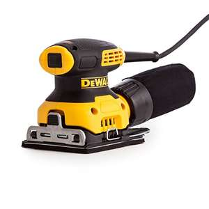 DEWALT DWE6411-GB 240 V 1/4 Sheet Orbital Sander £64 @ amazon