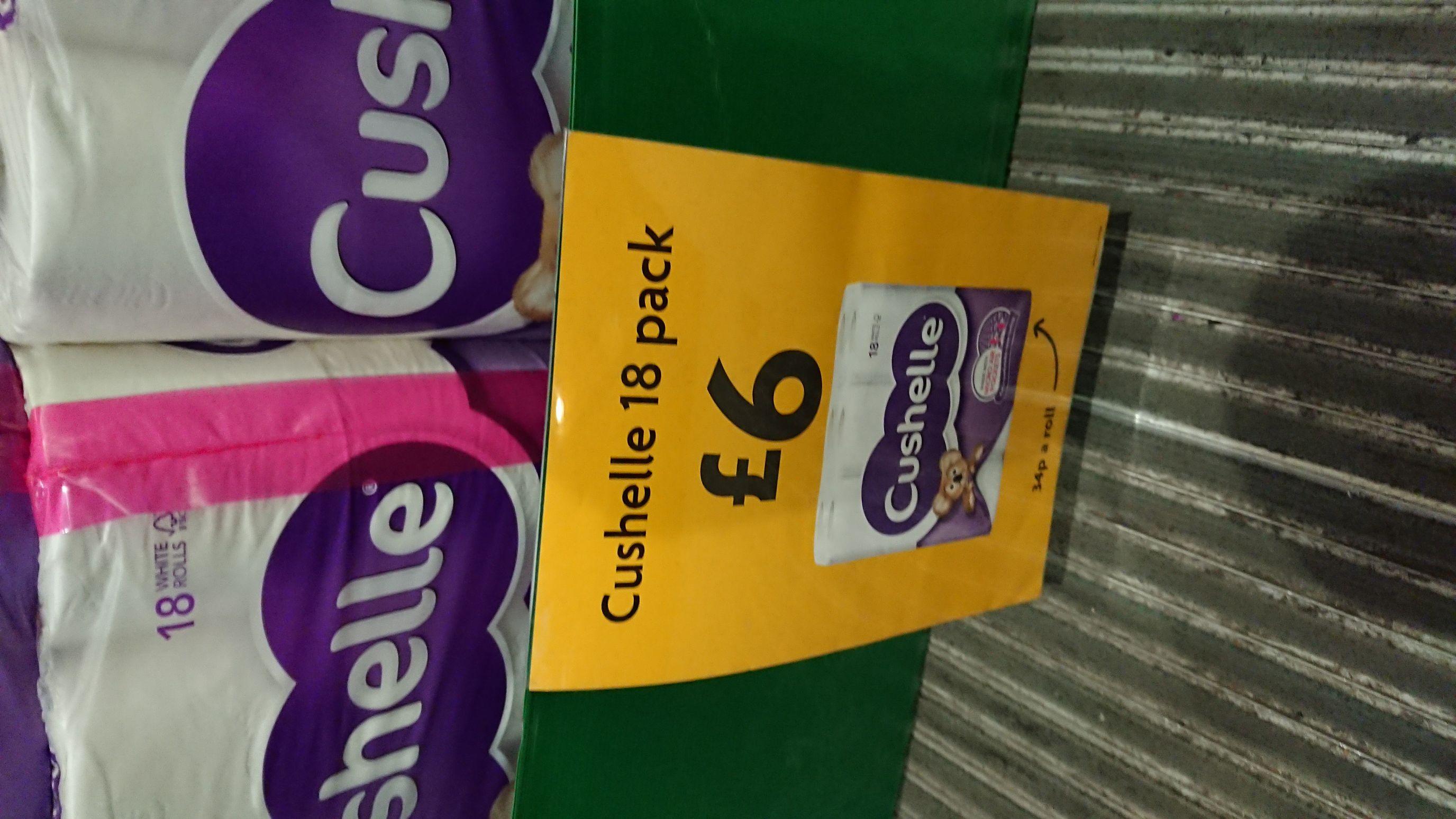 Cushelle 18 pack at Morrisons for £6
