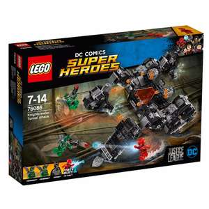 LEGO DC Comics Super Heroes Knight crawler Tunnel Attack - 76086 £30 -  Debenhams