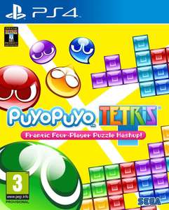 Puyo puyo Tetris (PS4) £15.80  (Prime) / £17.79 (non Prime) at Amazon
