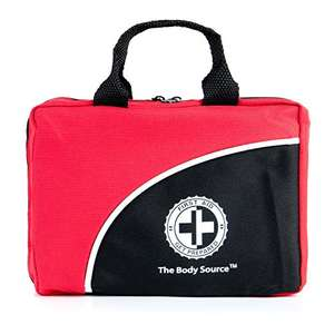 Amazon deal of the day 120 Piece Premium First Aid Kit Bag - Includes Eyewash, Ice Pack, CPR Mask and Emergency Blanket £11.49 (Prime) / £15.48 (non Prime) Sold by One Retail Group and Fulfilled by Amazon