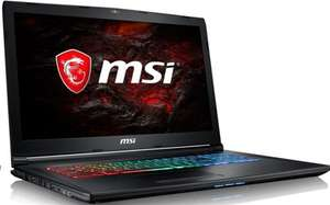 MSI GP72MVR 7RFX(Leopard Pro)-615UK 17inch, i7 gtx 1060 gaming laptop £1099 -  saveonlaptops