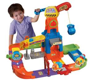 VTech Toot-Toot Drivers Construction Site (Was £40) Now only £20 at Tesco Direct