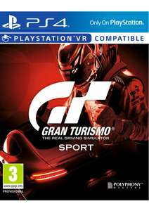 GT Sport on ps4 pre order - £39.85 @ SimplyGames