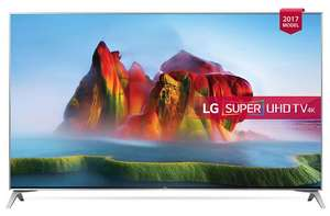 LG 49SJ800V 49 inch 4K Ultra HD HDR Smart LED TV Freeview Play 6 Months Netflix Premium Subscription Included!* £699 @ richersounds