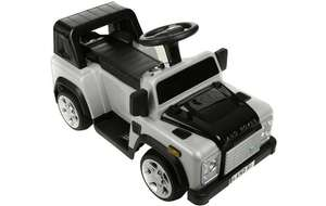 Land Rover Defender Electric Ride on Car Half Price £60 @ Halfords