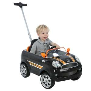 Avigo Mini Cooper Push Buggy in Pink or Black (was £89.99) now £63.99 delivered @ Toys R Us (more links in OP)