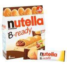 Nutella B-Ready 6 X 22G 99p @ Tesco Starting From Wednesday 04/10