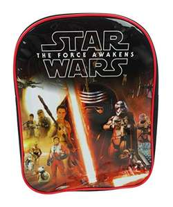 Kids Backpacks (Including Star Wars, Marvel, Disney - e.g. SW Ep 7 Rule the Galaxy Backpack was £7.70 now £5.74 Delivered w/Prime) @ Amazon