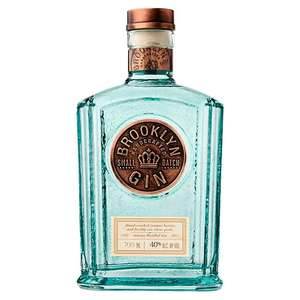 70cl Brooklyn Gin down to £30 in Morrisons until 3rd October 2017