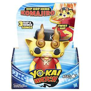 Yo-Kai Watch Hip Hop Hero Komajiro and Paws Of Fury Jibanyan £8.99 each - Dispatched from and sold by OnePack Ltd Amazon