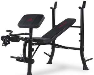 Marcy BE1000 Barbell Weight Bench £120.99 delivered @ Argos