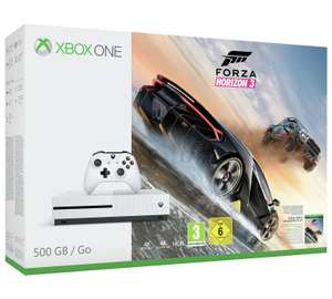 Xbox one S Forza Horizon 3 Bundle + FIFA 18 £199.99 @ Argos