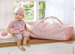 My First Baby Annabell in Moses Basket (Was £35) Now just £17.50 at Tesco Direct