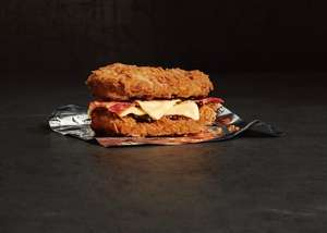 KFC Double Down sandwich arriving officially on 9th October - Now live!!!! £4.79 on it's own, £5.79 as a meal!