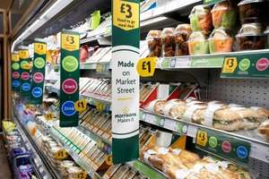 Morrisons expand Lunch Deal to include the Best Range + World foods -  Any Sandwich or Medium Salad, Any Side + Any Drink =  £3 (370 different items now to mix and match)