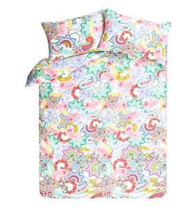 Bright Paisley Duvet Cover (was £10) Now £5.00 at Asda George