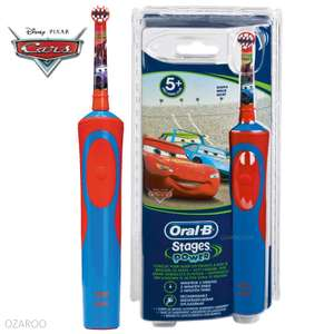 Oral B Disney Cars Kids Electric toothbrush (5+ years old) Superdrug Instore only £13.99