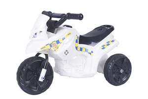 Nee narr, nee nar! Police 6V Electric Ride On £25 / Fairy version also £25 C&C / £28 delivered @ Tesco Direct