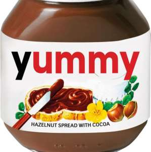 Nutella Hazelnut Chocolate Spread 750g 25p - £5.99 del @ Approved foods