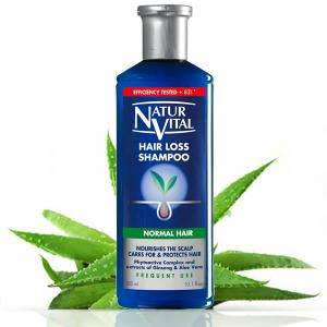 Natur Vital Hair Loss Shampoo Normal 300ml for £7.49 with FREE Click and Collect/£3.95 Delivered