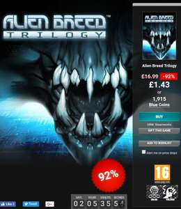 Alien Breed Trilogy - 92% Off - £1.43 @ GamersGate (Steam)