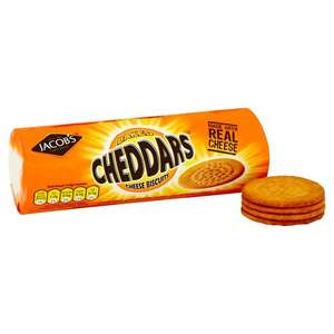 Jacobs Baked Cheddars and Cheddars with Crispy Bacon 50p @ Morrisons